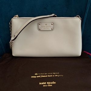 KATE SPADE Leather Wellesley Byrd small handbag